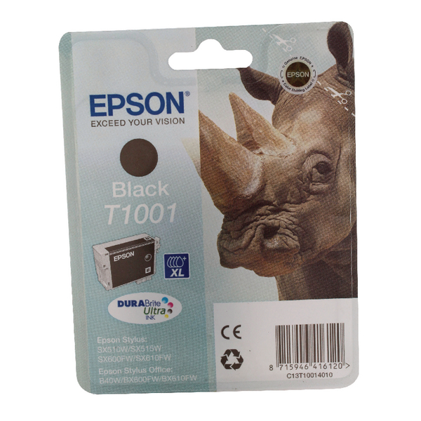 Epson T1001 Black Ink Cartridge C13T10014010
