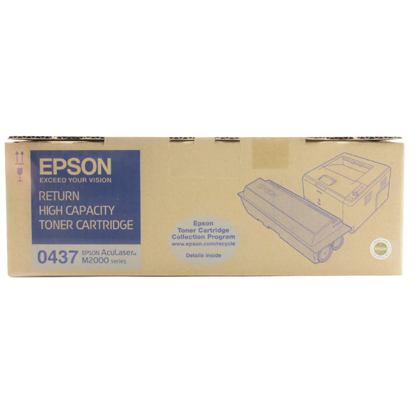 Epson S050437 Black Return Toner Cartridge High Capacity C13S050437 / S050437