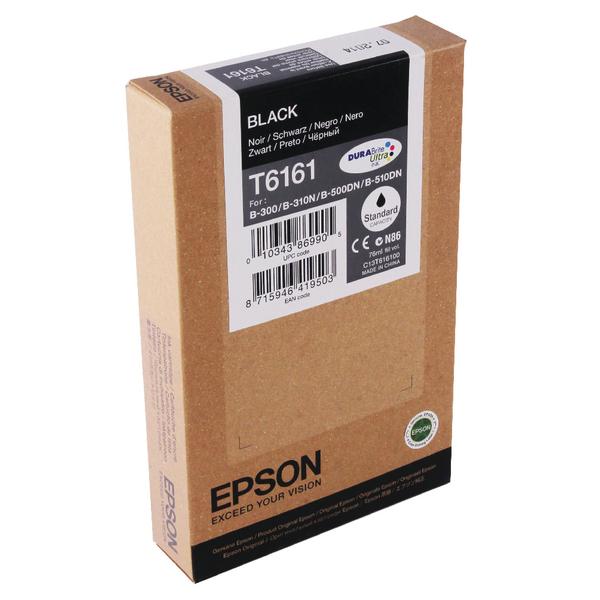 Epson B-500DN Standard Capacity Inkjet Cartridge Black C13T616100