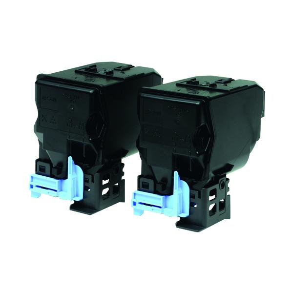 Epson S050594 Black Toner Cartridge (Pack of 2) C13S050594 / S050594