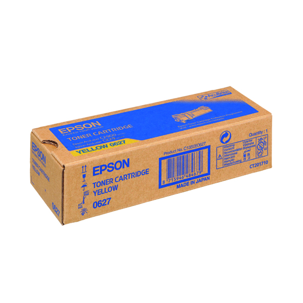 Epson S050627 Yellow Toner Cartridge C13S050627 / S050627