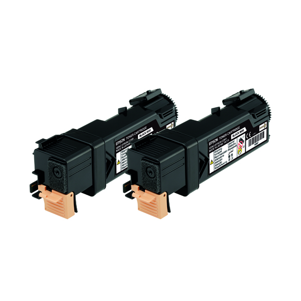Epson S050631 Black Toner Cartridge Twin Pack (Pack of 2) C13S050631