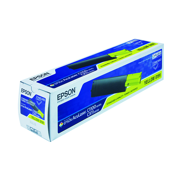 Epson S050191 Yellow Toner Cartridge C13S050191 / S050191
