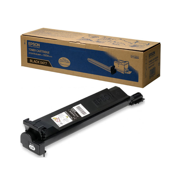 Epson S0504 Black Toner Cartridge C13S050477 / S050477
