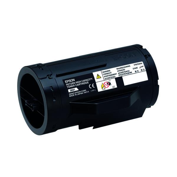 Epson S050691 Black Toner Cartridge High Capacity C13S050691