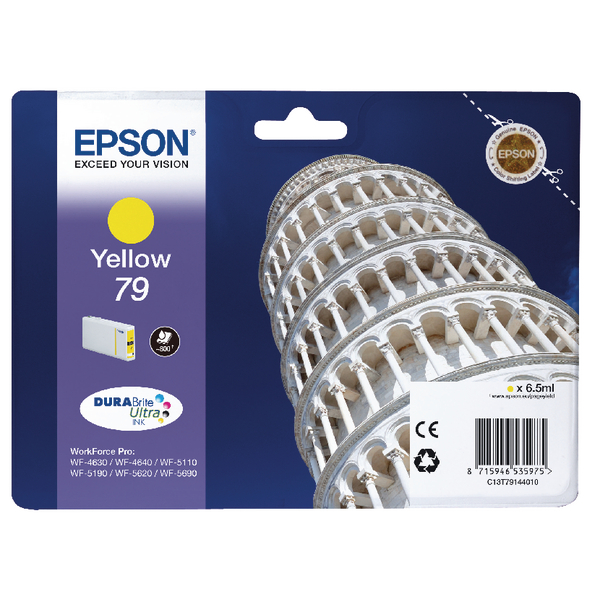 Epson 79 Yellow Inkjet Cartridge C13T79144010 / T7914
