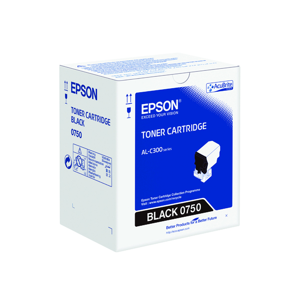 Epson S050750 Black Toner Cartridge C13S050750