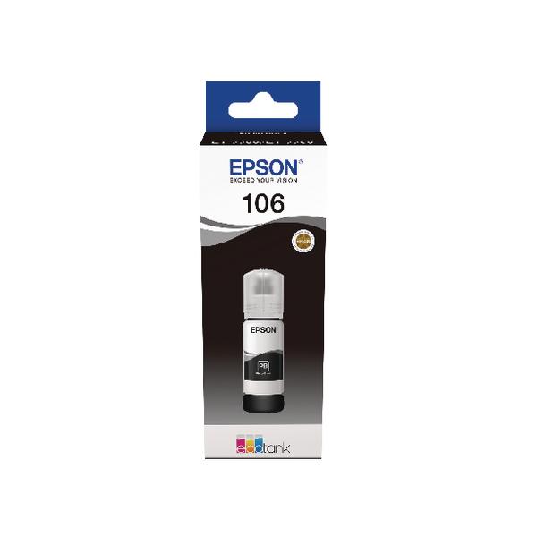 Epson 106 EcoTank Photo Black Ink Bottle C13T00R140