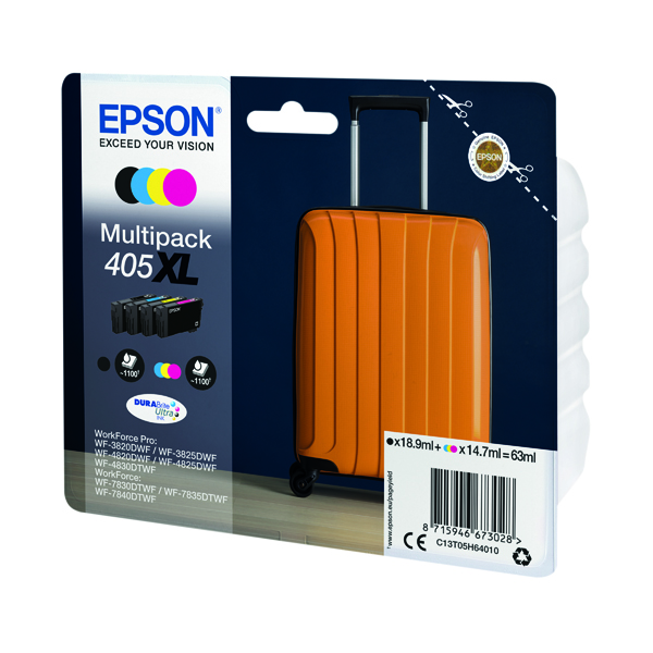 Epson 405XL Ink Cartridge 4 Colours C13T05H64010