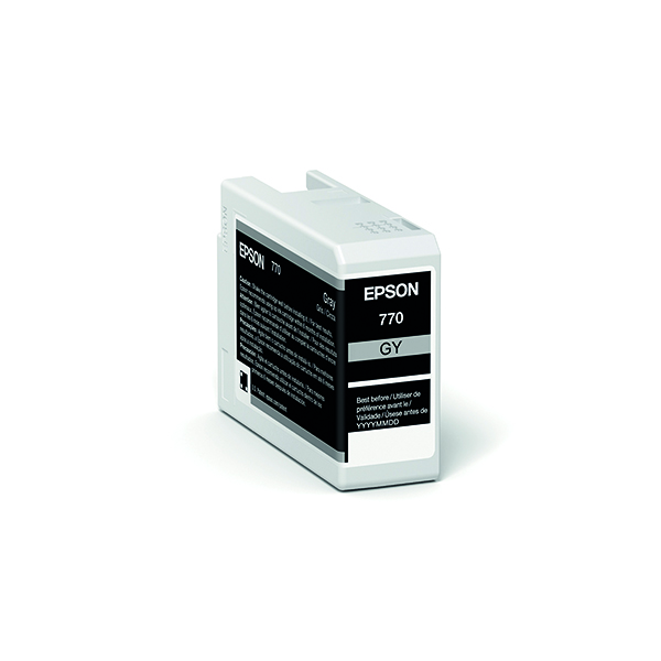 Epson T46S7 Grey UltraChrome Pro 10 Ink 25ml C13T46S700