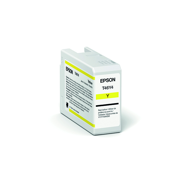 Epson T47A4 Yellow UltraChrome Pro 10 Ink 50ml C13T47A400