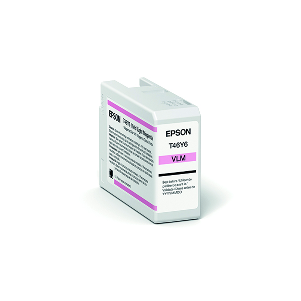 Epson T47A6 Vivid Light Magenta UltraChrome Pro 10 Ink 50ml C13T47A600