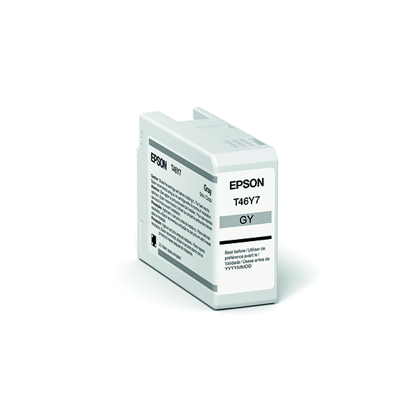 Epson T47A7 Grey UltraChrome Pro 10 Ink 50ml C13T47A700