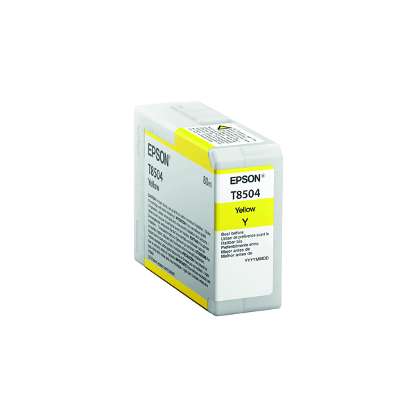 Epson Yellow Ink Cartridge C13T850400