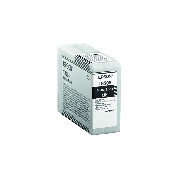 Epson Matte Black Ink Cartridge C13T850800