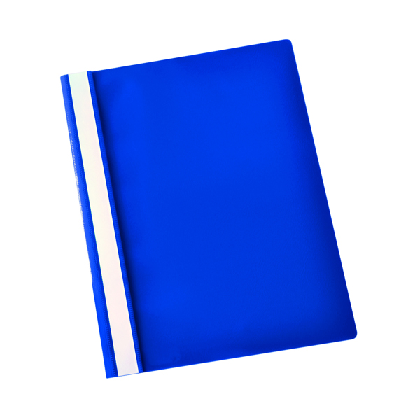 Esselte Report File Polypropylene A4 Dark Blue (Pack of 25) 28315