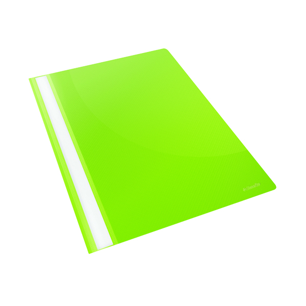 Esselte VIVIDA Polypropylene Report Files A4 Green (Pack of 25) 28317