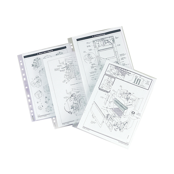 Image for Esselte Heavy Duty Pockets A4 (Pack of 25) 47187