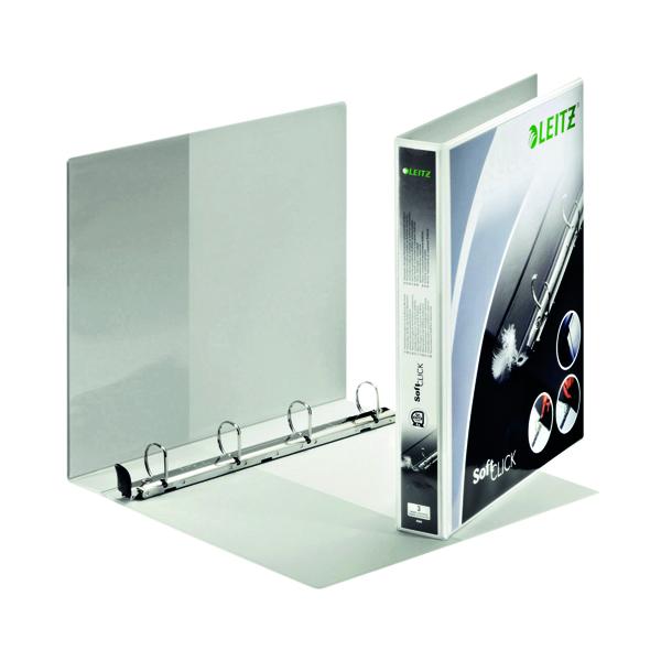 Leitz Panorama 4-Ring Presentation Binder 25mm White 42010-00-1
