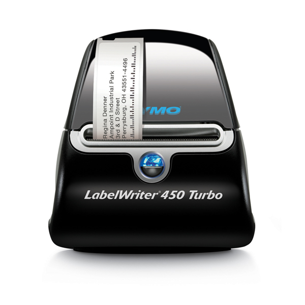 Dymo LabelWriter 450 Turbo Label Printer (Thermal printer, no toner required) S0838860