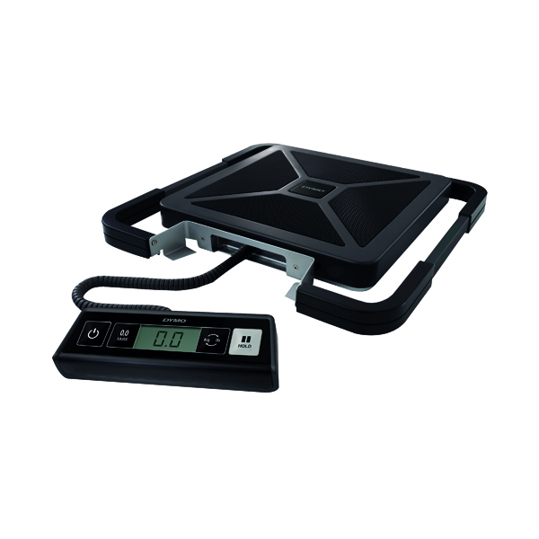 Dymo S50 UK Shipping Scale 50kg Black S0929050