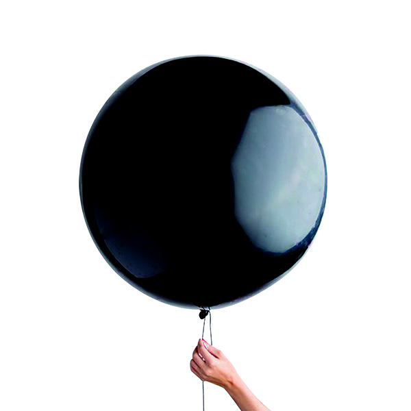 Black Gender Reveal Balloon (Pack of 6) 23034-GR