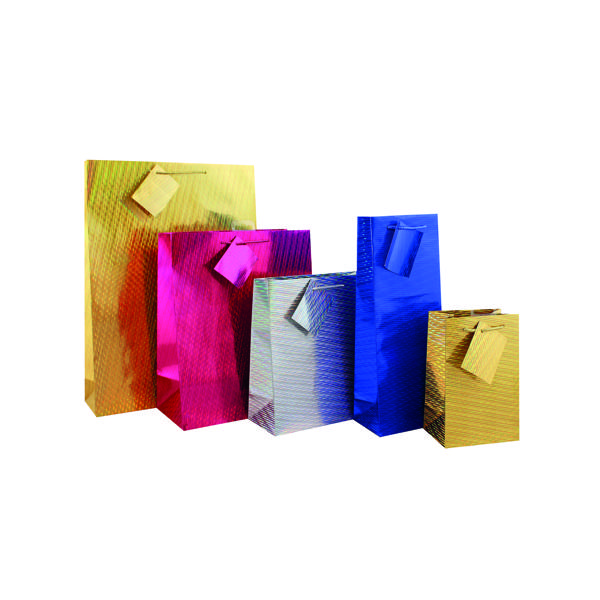 Holographic Gift Bag Extra Large (Pack of 12) FUNK1.