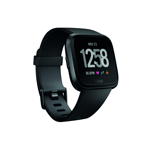 Image for Fitbit Versa Black/Black Aluminium FB505GMBK-EU
