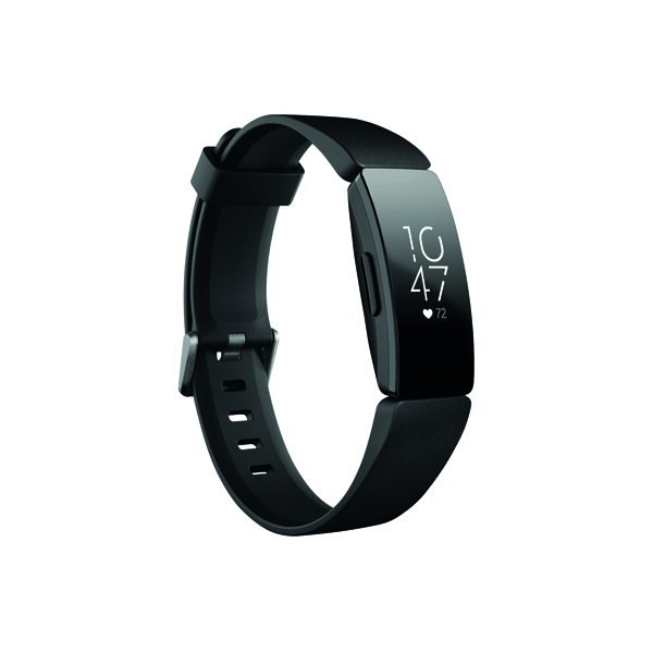Image for Fitbit Inspire HR Black/Black FB413BKBK