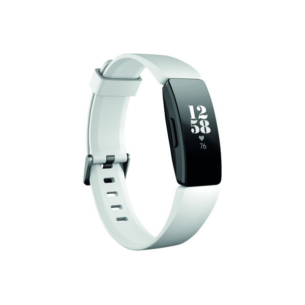 Image for Fitbit Inspire HR White/Black FB413BKWT