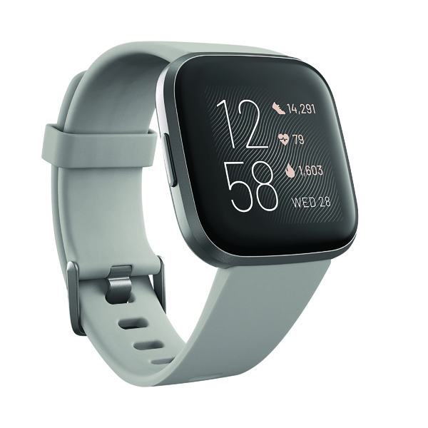 Fitbit Versa 2 Stone/Mist Grey FB507GYSR
