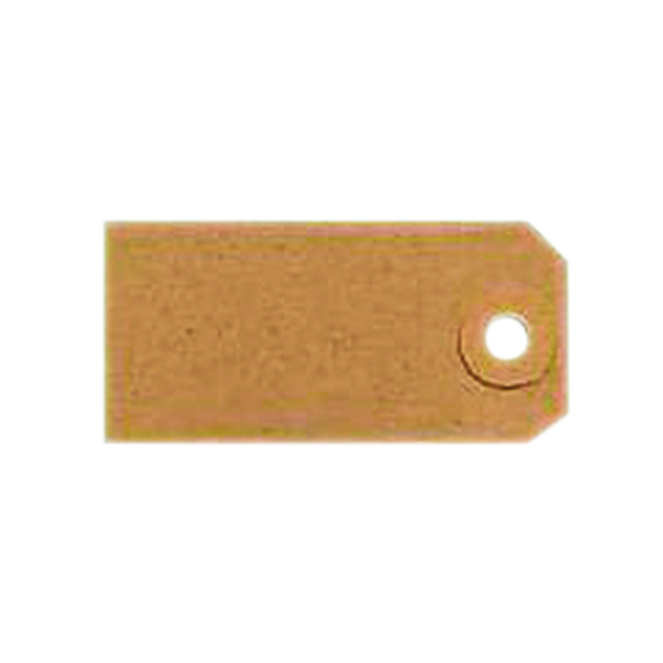 Unstrung Tags 1A 70 x 35mm Buff Single (Pack of 1000) TG8021