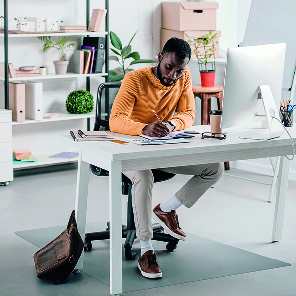 Ecotex Evolutionmat Carpet Chair Mat Rectangular 1200x900mm
