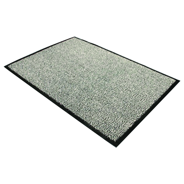 Doortex Dust Control Door Mat 900x1200mm Black/White 49120DCBWV