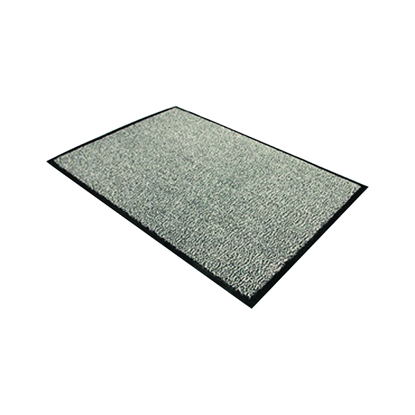 Doortex Dust Control Door Mat 900x1500mm Black/White 49150DCBWV