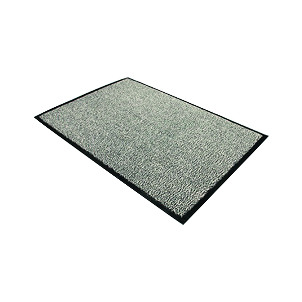 Doortex Dust Control Mat 1200x1800mm Black/White 49180DCBWV