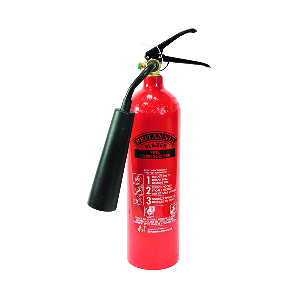 Fire Extinguisher Carbon Dioxide 2 kg XC2A
