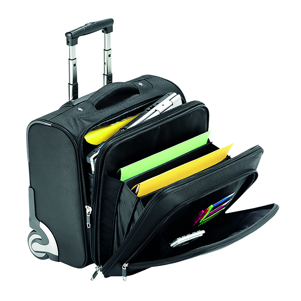 Falcon Mobile Laptop Business Trolley Case Black 2567T
