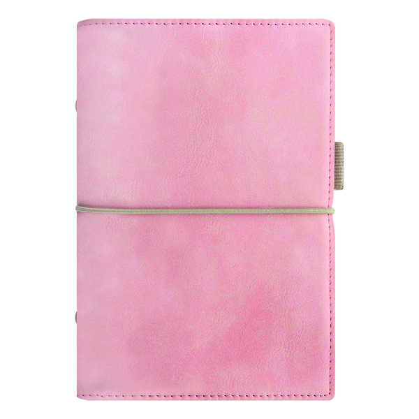 Image for Filofax Domino Soft Personal Organiser Pale Pink 22577