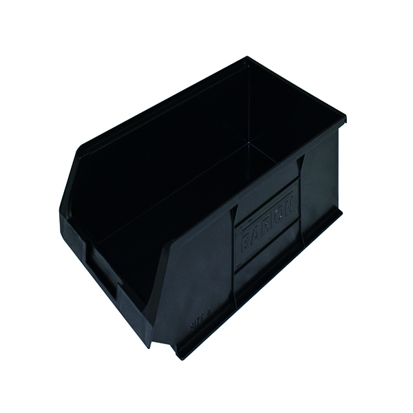 Barton Topstore Container TC4 Recycled (Pack of 10) Black 010048