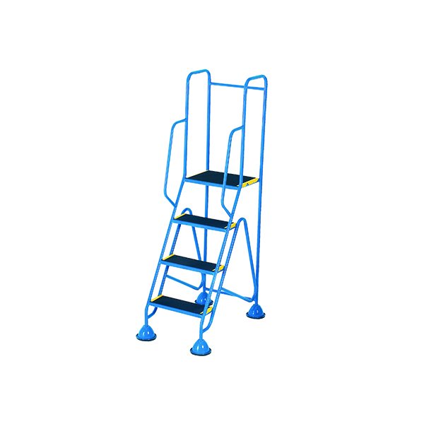 Fort Mobile Steps 4 Tread Full Handrail WS514