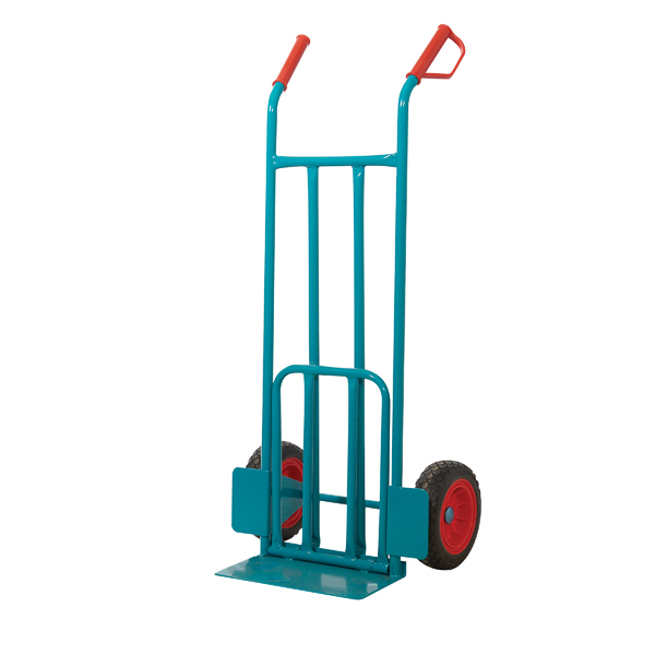 GPC Apollo Heavy Duty Blue Sack Truck with Folding Toe GI704R