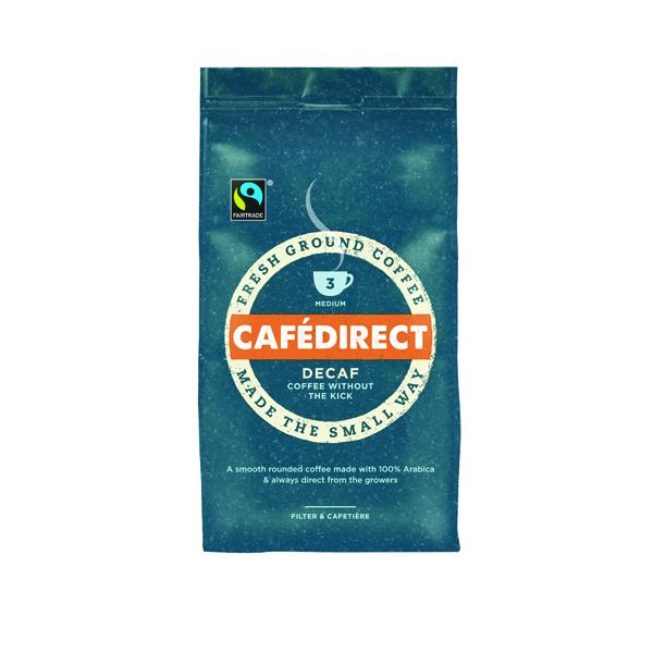 Cafedirect Roast Ground Decaffeinated Coffee 227g Buy 2 Get FOC Advent Calendar