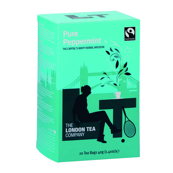 London Tea Peppermint Tea (Pack of 20) FLT0002