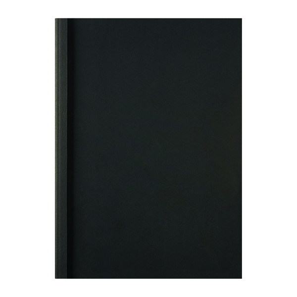GBC LeatherGrain ThermaBind A4 Cover 1.5mm Black (Pack of 100) IB451607