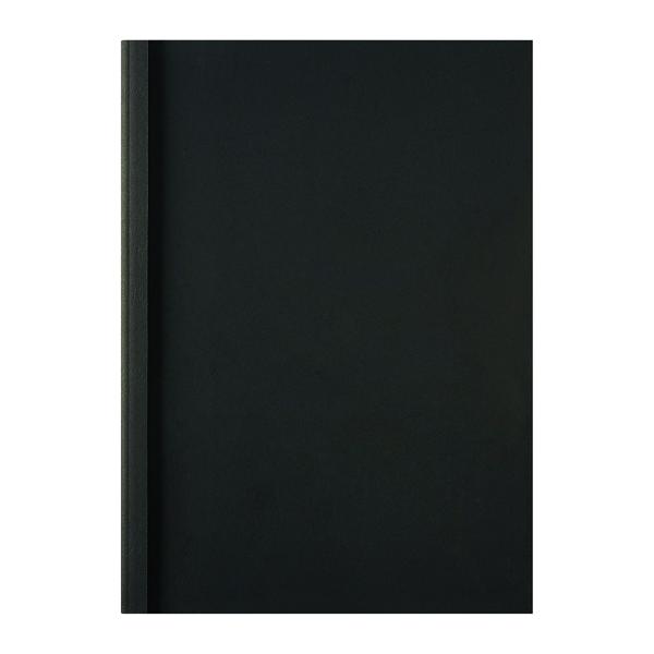 GBC LeatherGrain Thermal Binding Covers Black (Pack of 100) IB451607