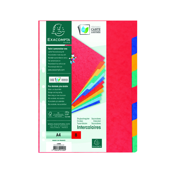 Exacompta Forever Magazine File Black 180014D