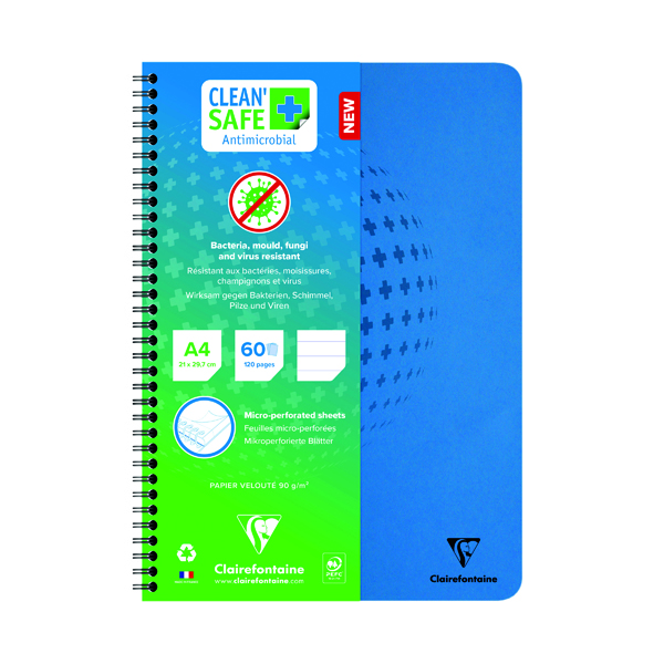 Clean Safe A4 Notebook 120 Pages 82146C