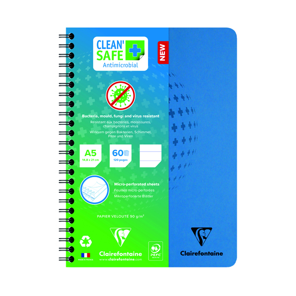 Clean Safe A5 Notebook 120 Pages 82566C