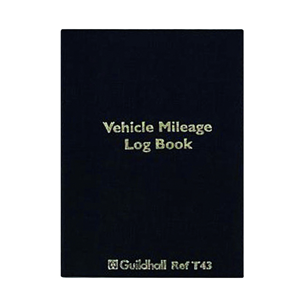 Exacompta Guildhall Vehicle Mileage Log Book T43